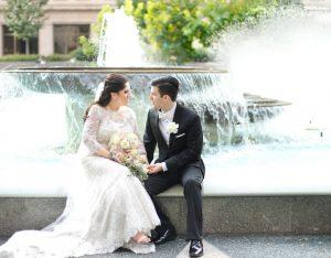 s-bride-groom-at-fountain-by-araujo