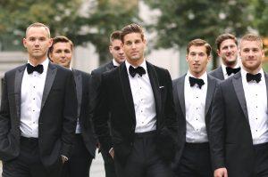 groomsmen-walking