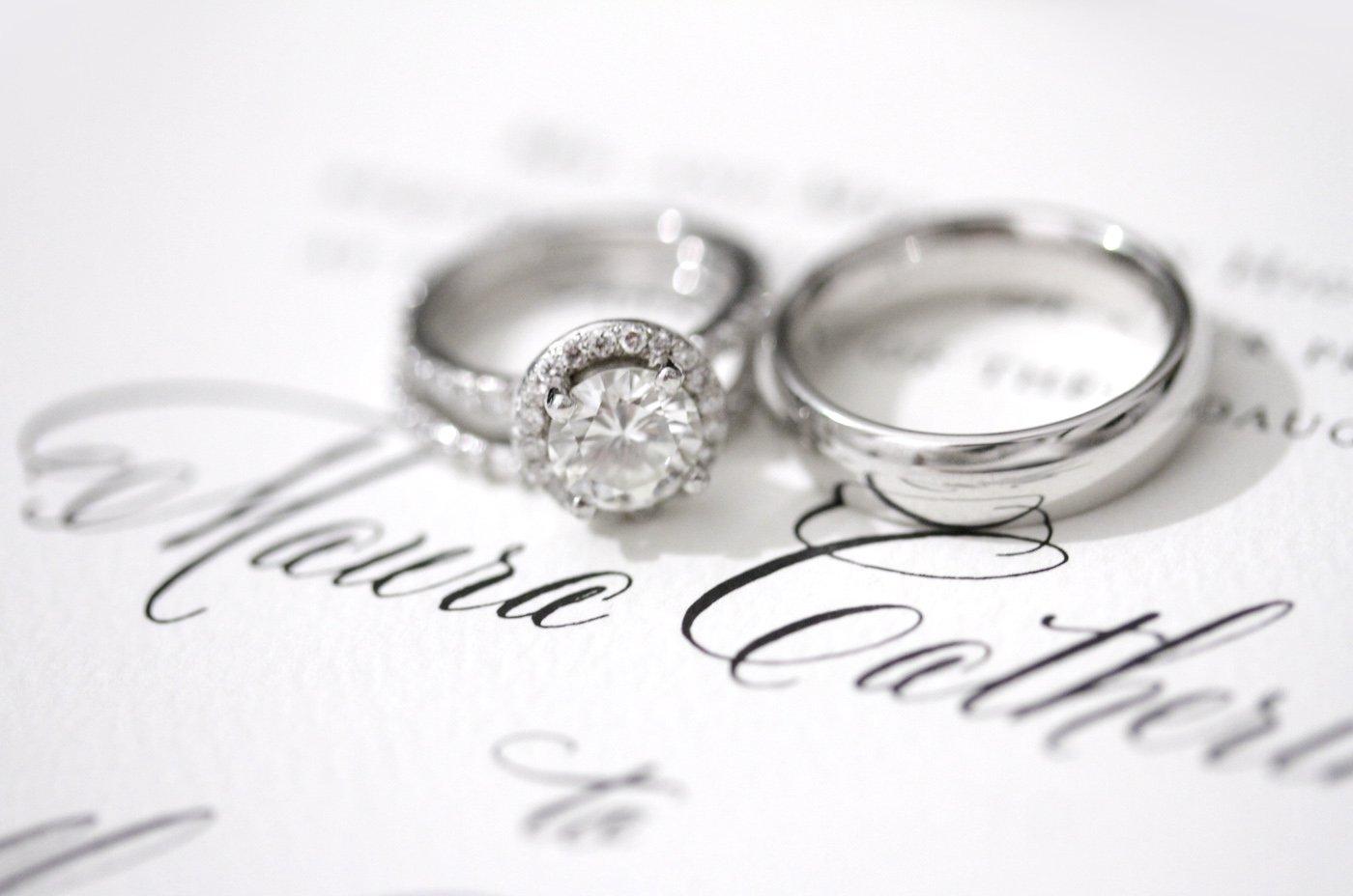 Amazing Wedding Ring Invitations Mold - Invitations Design ...