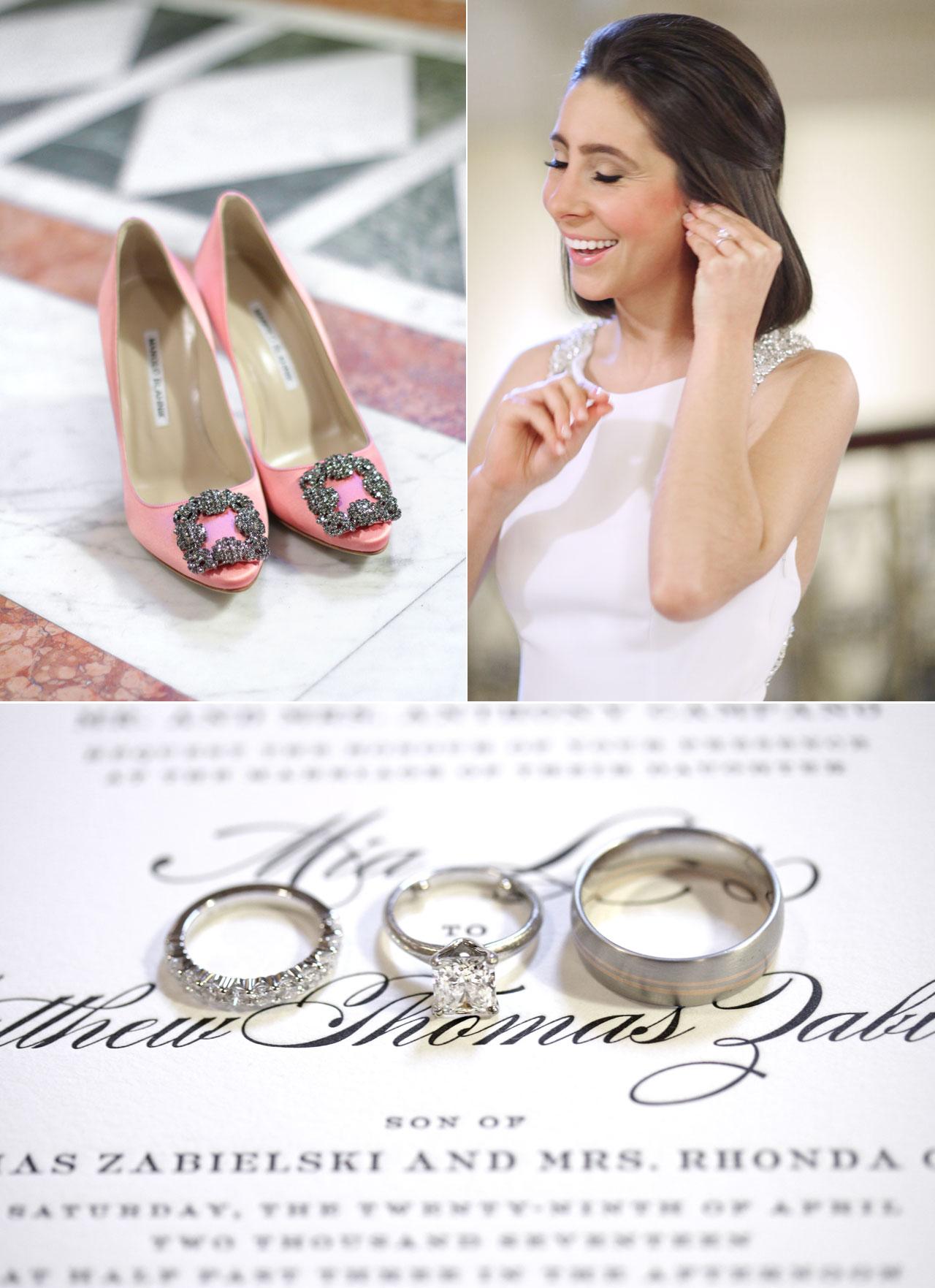 wedding rings invitation