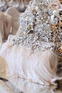ornate bridal purse
