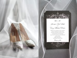 wedding shoes invitations