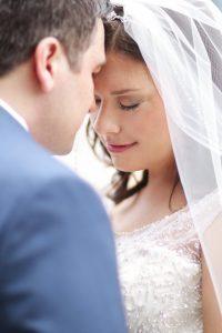 lovely bride groom