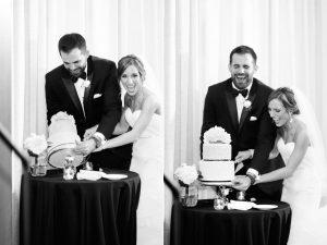 bride groom cut cake araujo