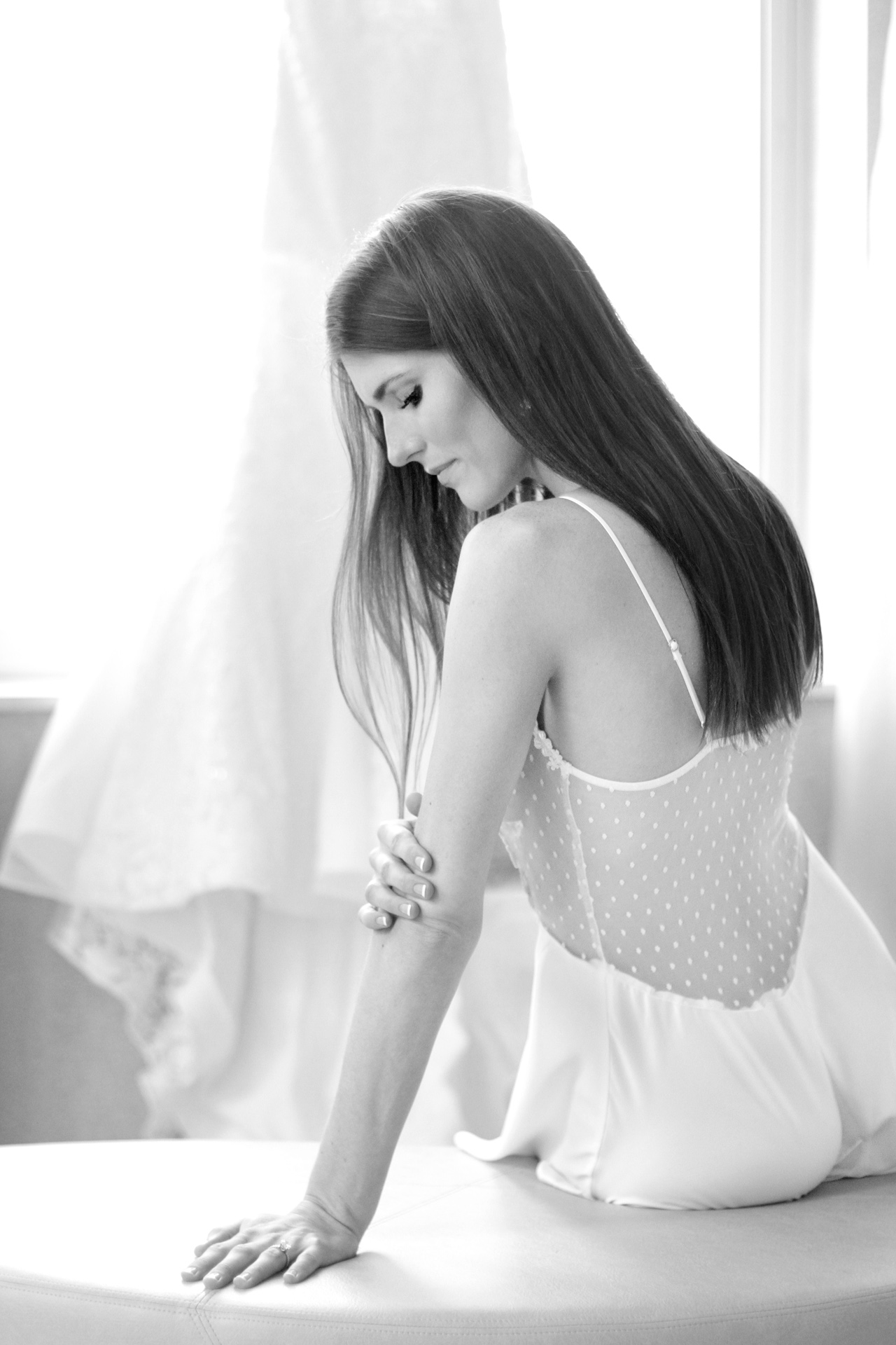 sitting-bride
