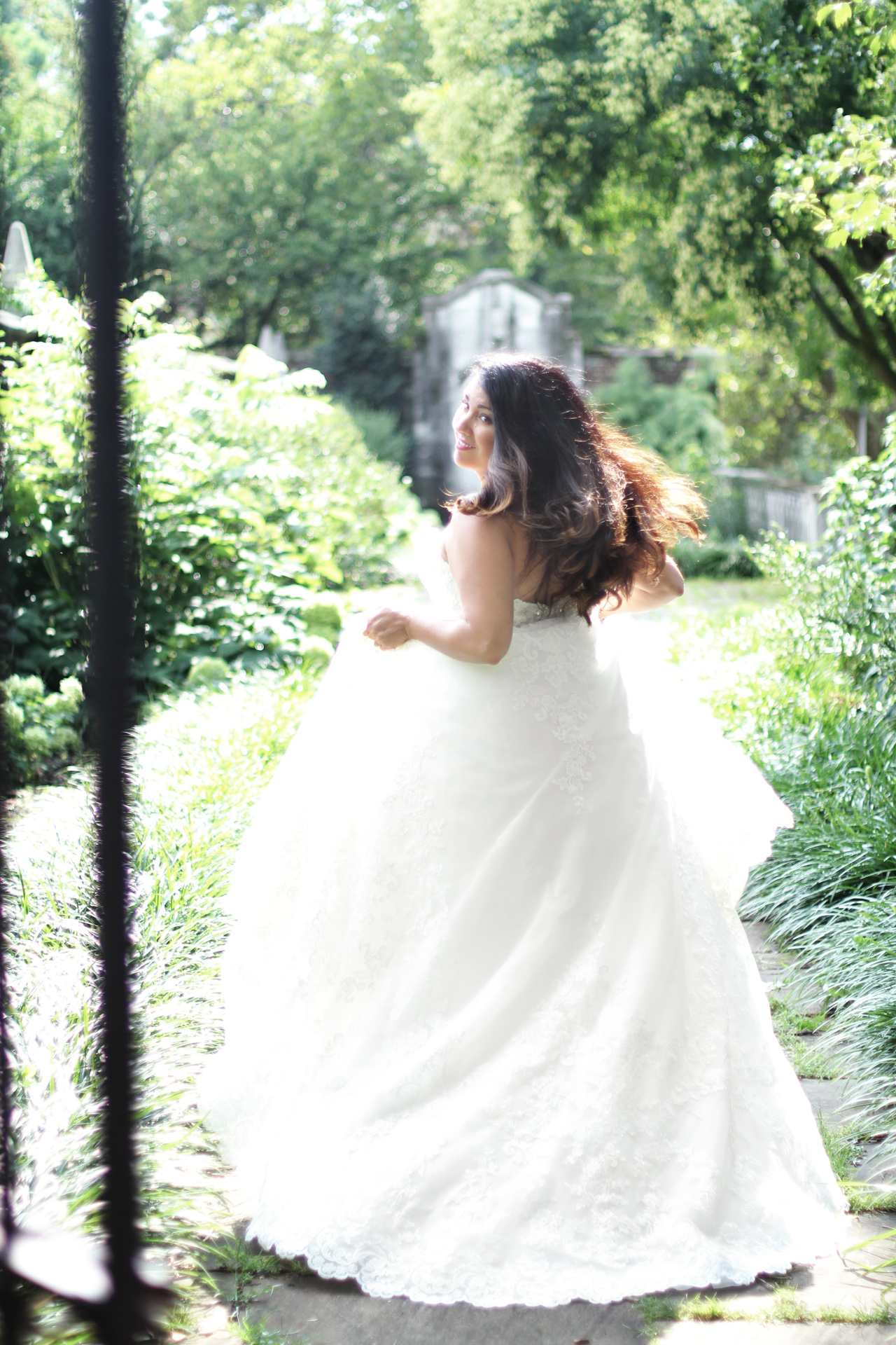 bride-flowing-hair-pittsburgh