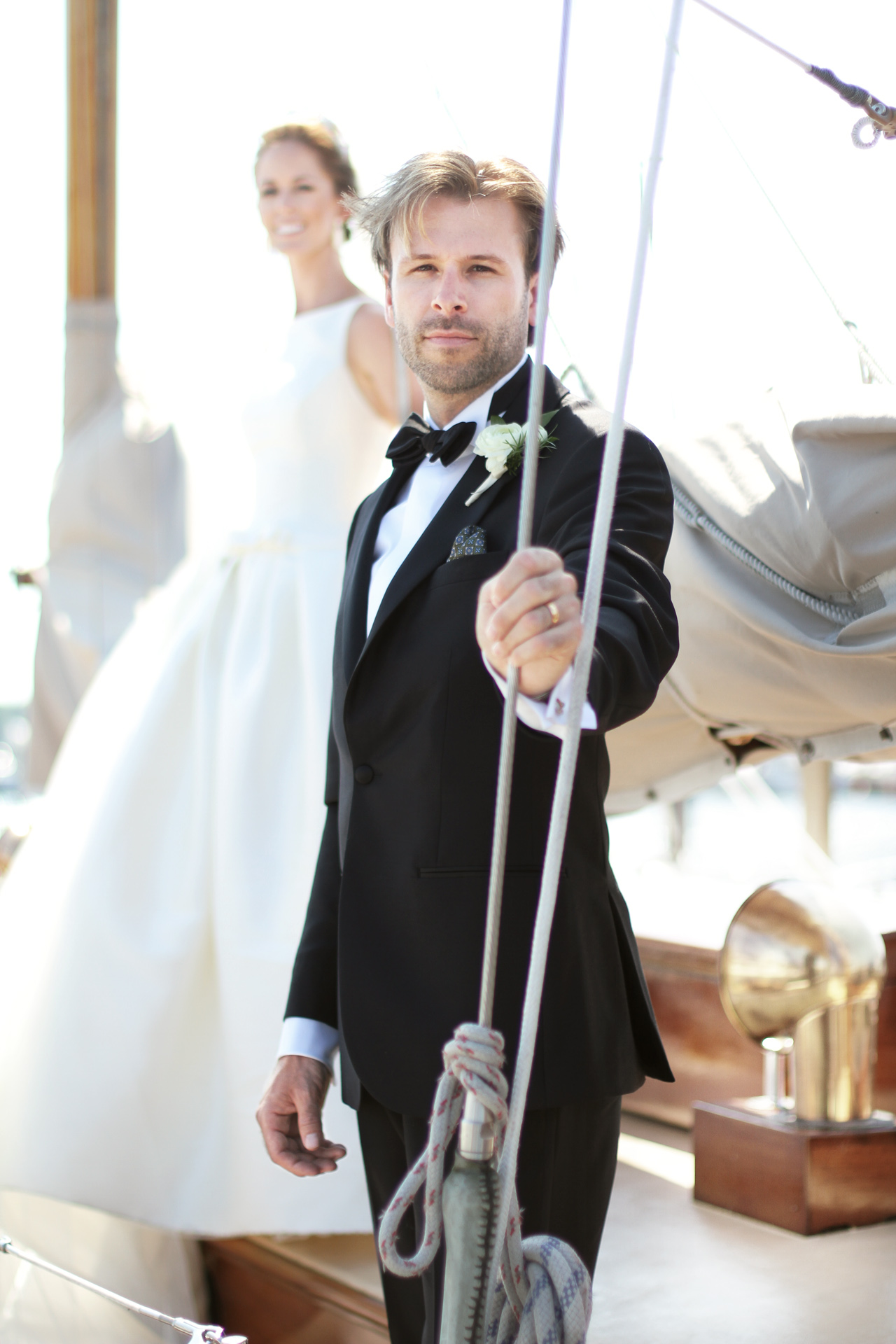 sailboat wedding pictures