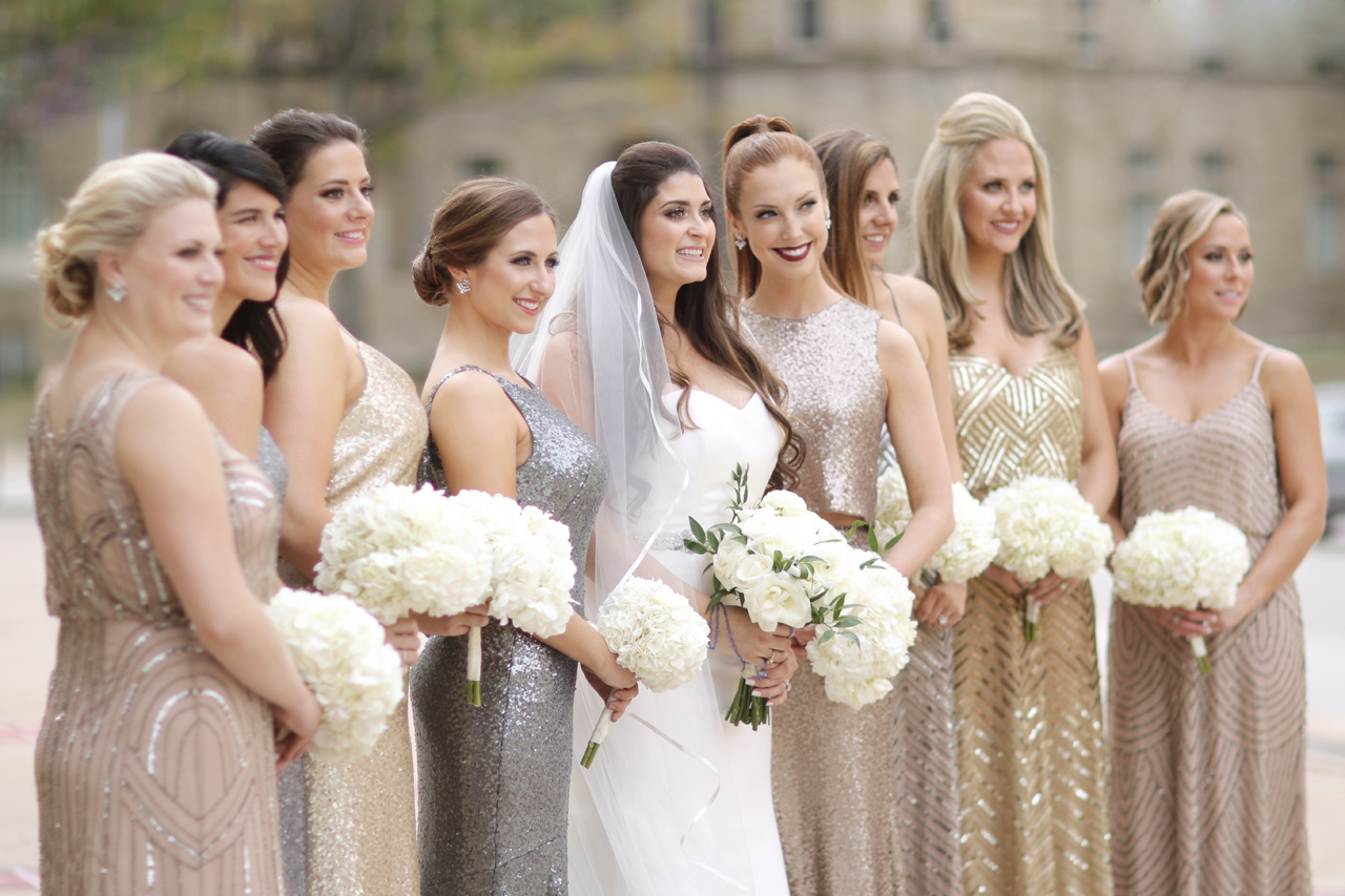 bridesmaids araujo photo