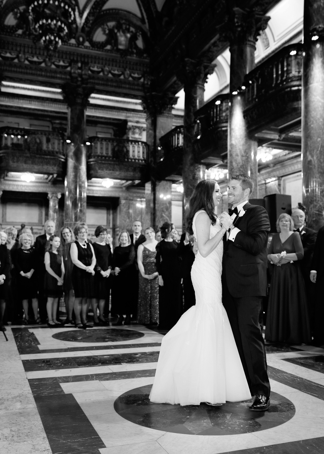 wedding at carnegie music hall