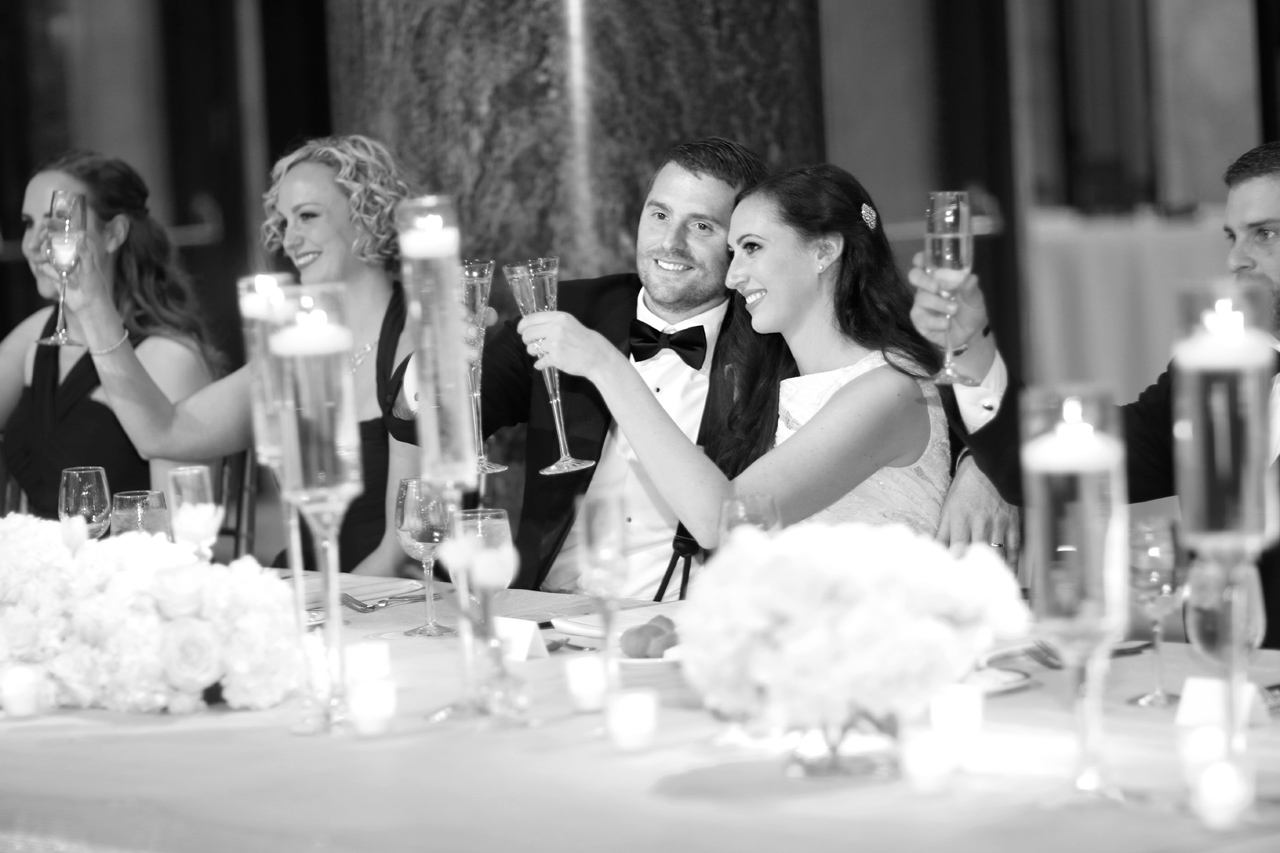 wedding toast at carnegie pittsburgh