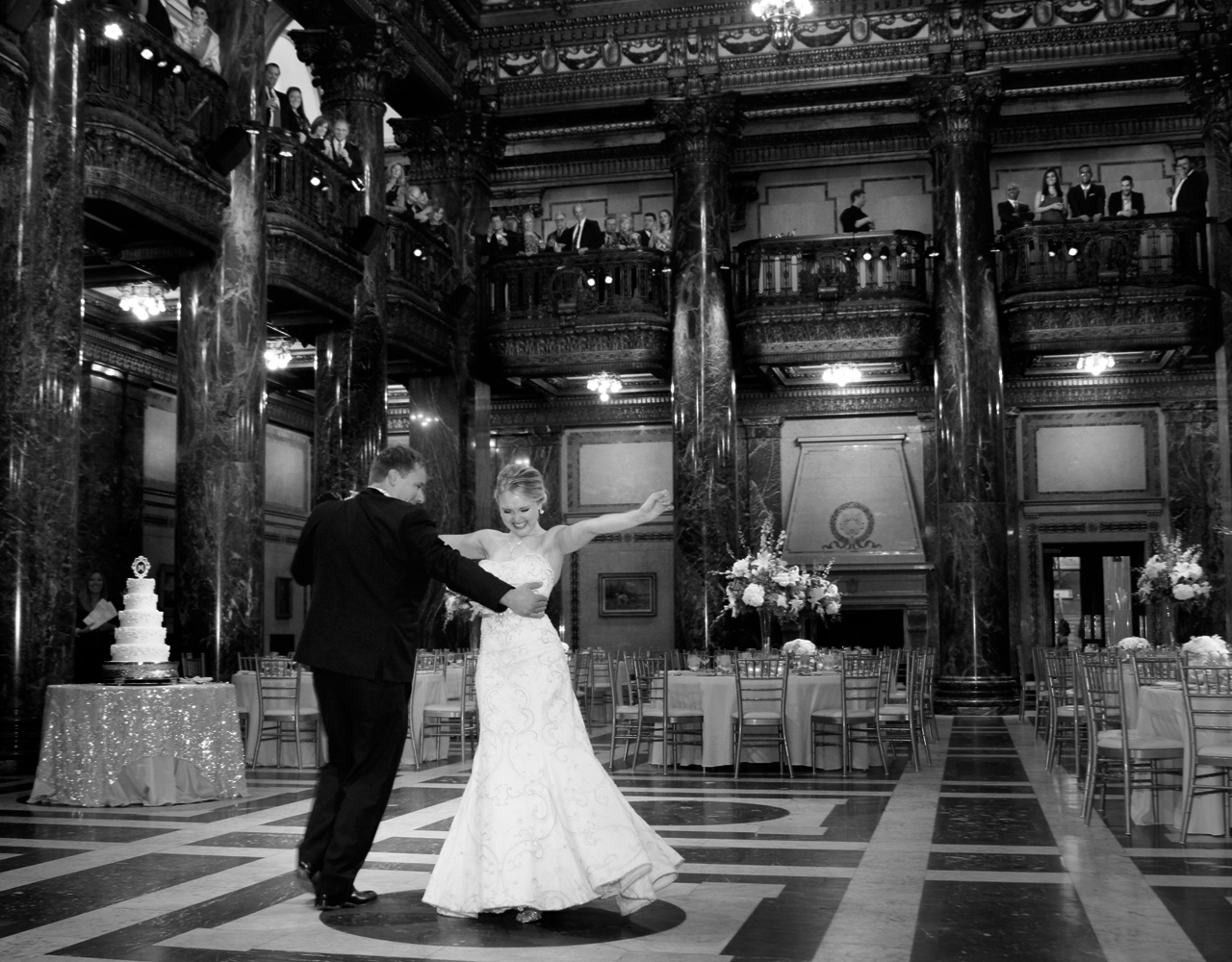 Carnegie music hall wedding Pittsburgh