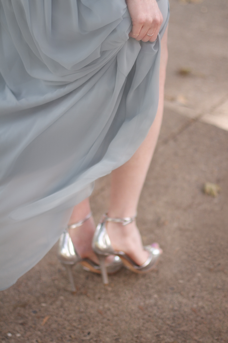 bridesmaid at a wedding in Pittsburgh, PA