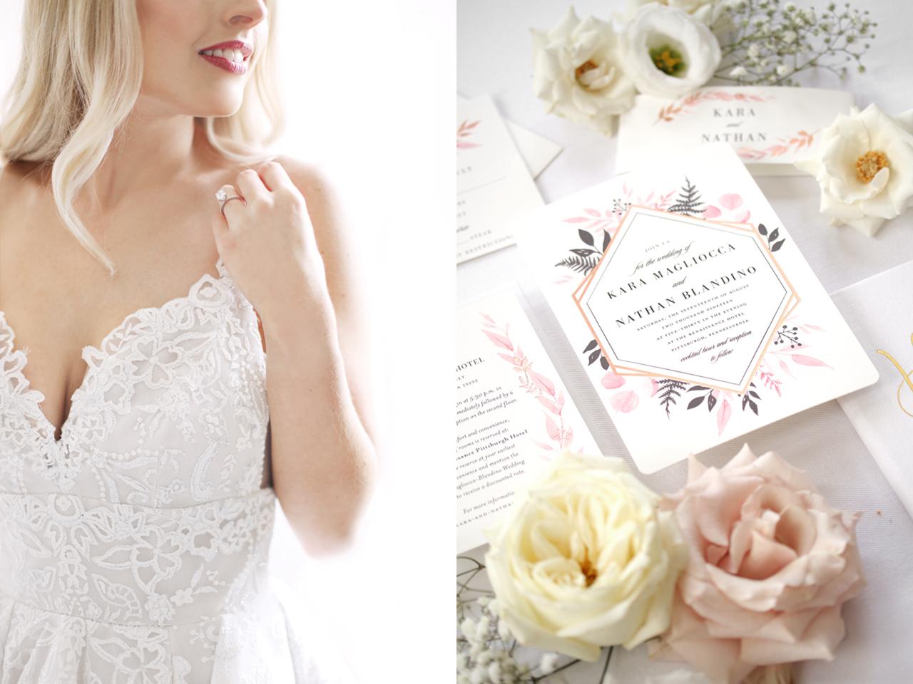 wedding invitation by araujo photo