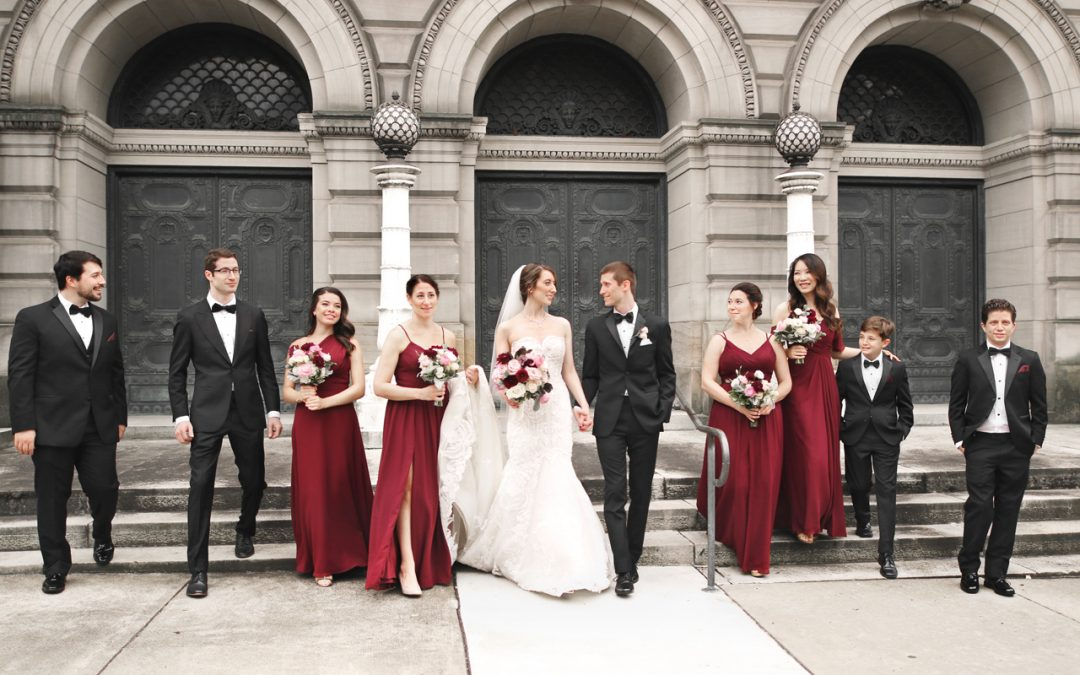 Carnegie Museum Wedding, Pittsburgh, PA