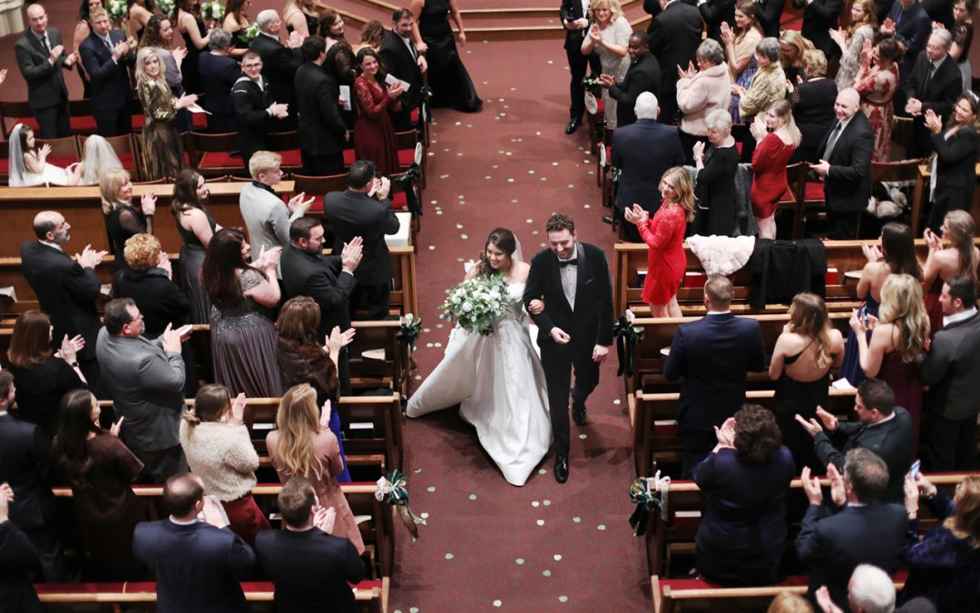 Pittsburgh, PA wedding at Duquesne Chapel