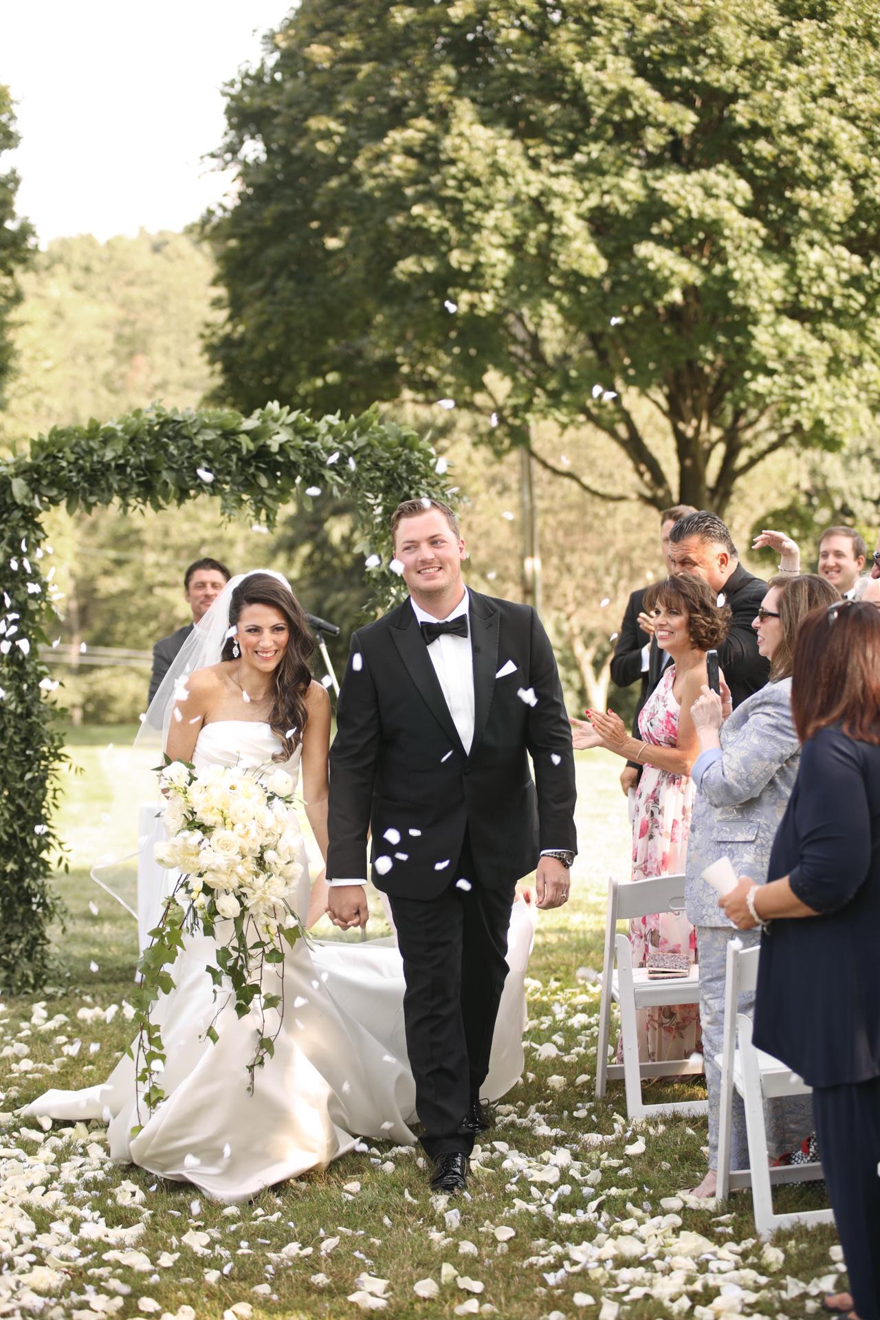 outdoor wedding by araujo photography